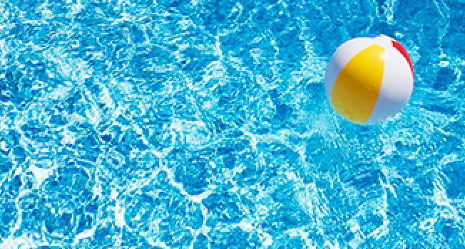 Ball On a Pool