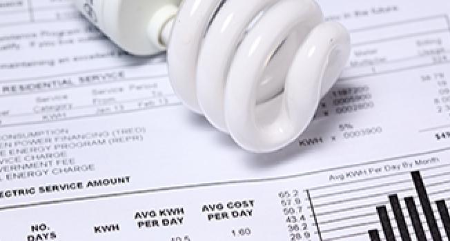 Light Bulb Over a Bill