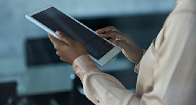 Manipulating a Tablet