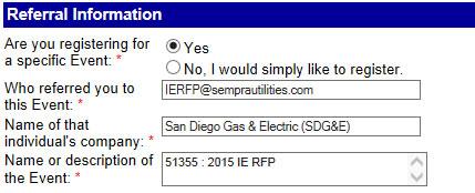 IERFP Referral Information
